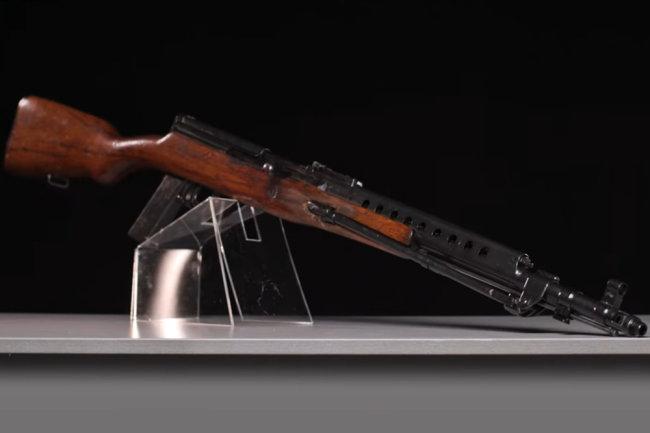 Автомат Токарева на базе винтовки АВТ-40 показали на видео