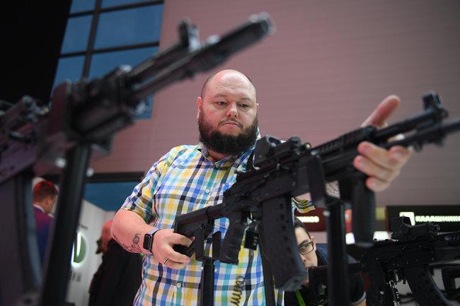 Создан автомат Калашникова под патрон НАТО